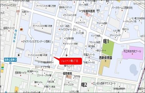 曙1丁目地図